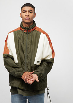 NIKE NSW Re-Issue Jacket Woven olive canvas/dark russet