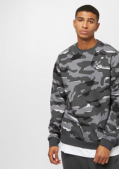 NIKE SW Club Camo Crew BB cool grey/anthracite/white