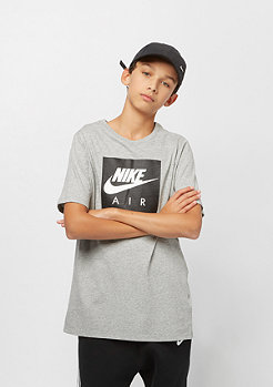 NIKE Junior B NSW TEE AIR LOGO dk grey heather/white