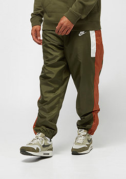 NIKE NSW Re-Issue Pant Woven olive canvas/dark russet/sail