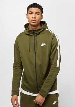 NIKE NSW Jacket PK Tribute olive canvas/white/white