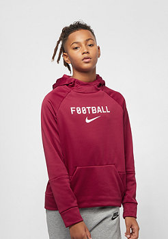 NIKE Junior B NK THRMA HOODIE red crush