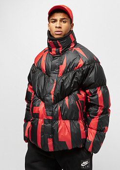 NIKE NSW Down Fill Jacket SNL habanero red/black/black
