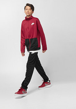 NIKE Junior SW TRACK SUIT POLY red crush/black/white