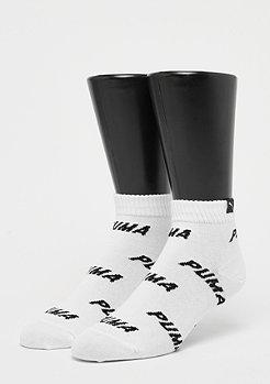 Puma Quarter All Over Logo 2P white/black