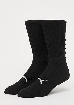 Puma Big Logo Crew Sock 2P black/white