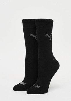 Puma Sock Crew 2P black