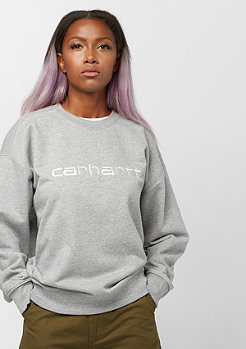 Carhartt WIP Carhartt Sweatshirt grey heather/white