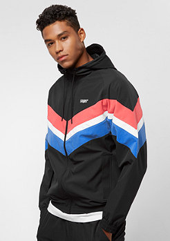 SNIPES Block Windbreaker black/red/white/blue