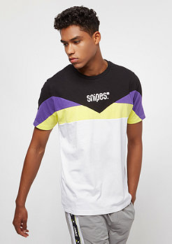 SNIPES Block Small Basic Logo black/purple/white/lime