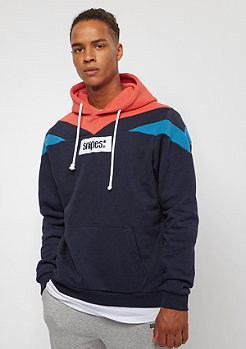 SNIPES Block Small Box Logo navy/red