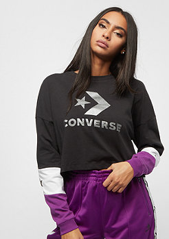 Converse Colorblocked Cropped converse black multi