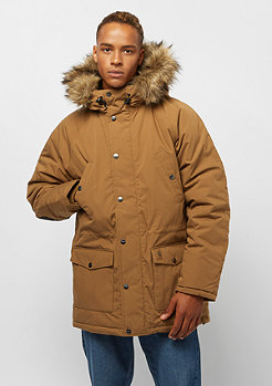 Carhartt WIP Trapper Parka hamilton brown/ black