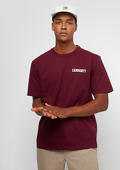 Carhartt WIP Mulberry / White mulberry/white