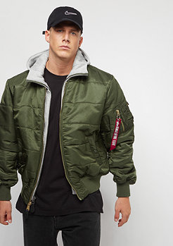 Alpha Industries MA-1D-Tec Puffer OS dark green