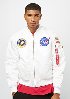 Alpha Industries MA-1VF NASA white