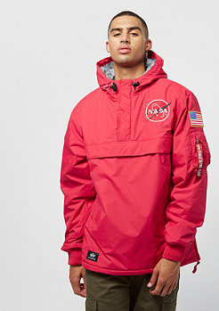 Alpha Industries NASA Anorak speed red