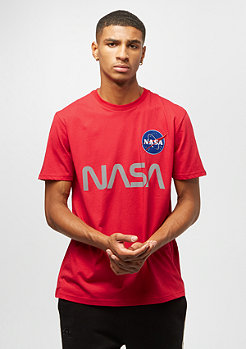 Alpha Industries Nasa Reflective speed red