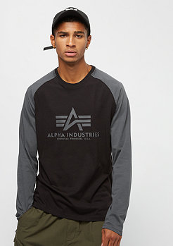 Alpha Industries Basic LS black/greyblack