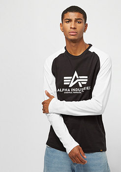 Alpha Industries Basic LS black/white camo