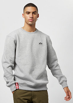 Alpha Industries Basic Sweater Small Logo grey heather