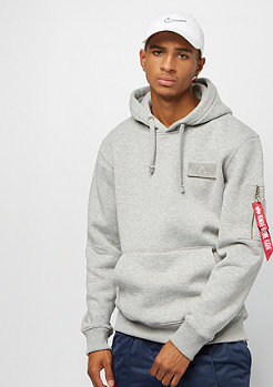 Alpha Industries Red Stripe grey heather