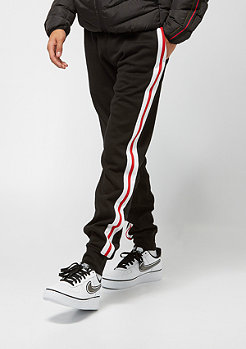 Urban Classics 3-Tone Side Stripe Terry blk/wht/f.red