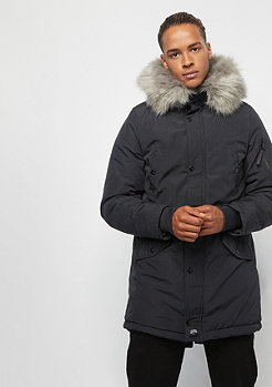 Sixth June Parka with Fur navy