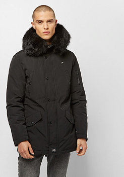 Sixth June Heating Parka Fur black