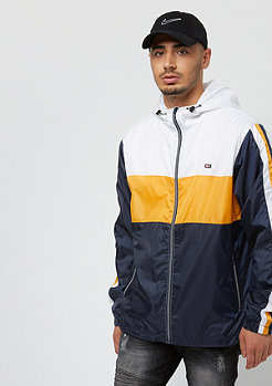 Southpole Color Block Windbreaker navy