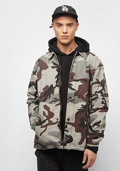 Urban Classics Camo Cotton Coach grey camo