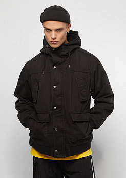 Urban Classics Hooded Cotton black