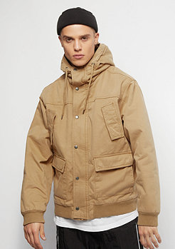 Urban Classics Hooded Cotton camel