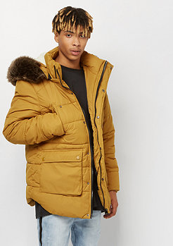 Urban Classics Hooded Faux Fur goldenoak