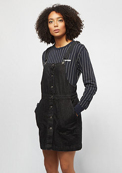 Urban Classics Denim Dungaree black washed