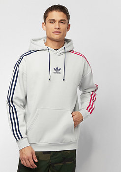 adidas 3 Stripe Hoody Injection Pack clear grey