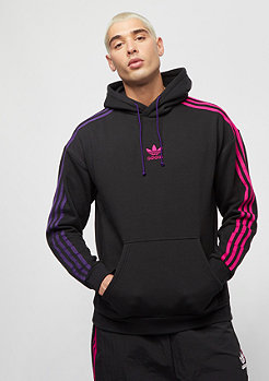 adidas 3 Stripe Hoody Injection Pack black
