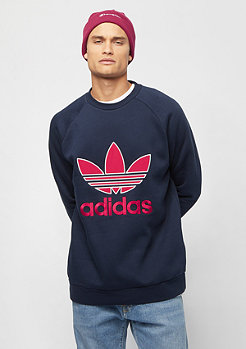 adidas Applique Trefoil Crew navy