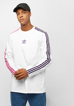 adidas Longsleeve Stripe Tee Injection Pack white