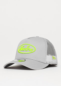 New Era 9Forty Neon Pop Trucker New Era storm gray/yellow