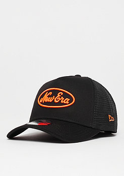 New Era 9Forty Neon Pop Trucker New Era black/orange