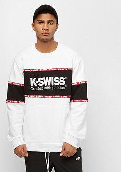K-Swiss Modesto Oversized Sweat white