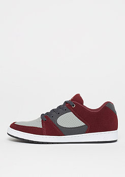 éS Accel Slim red/grey