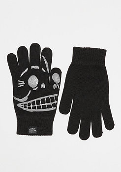 Cheap Monday Magic Gloves Skull black
