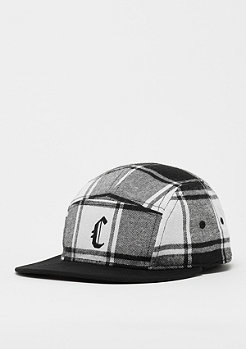 Cayler & Sons CSBL Blackletter 5 Panel Cap black/white