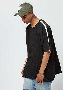 Urban Classics Oversize Stripe Shoulder black/white/woodcamo