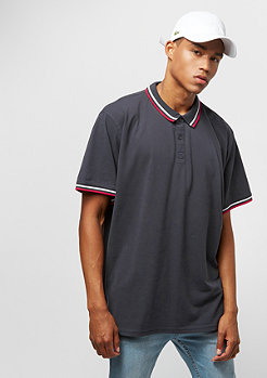 Urban Classics Double Stripe navy/white/fire red