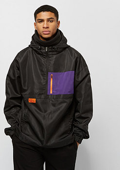 Cayler & Sons BL RTN Box Half Zip black/purple