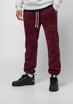 Cayler & Sons CSBL Blackletter Sweatpants bordeaux tiedye/white