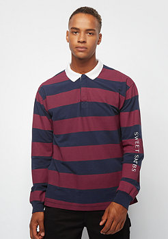 Sweet SKTBS Loose Pique Polo navy/rhubarb